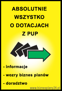 biznes plan do Urz�du Pracy